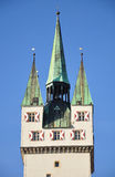 Tower in Straubing, Bavaria Stock Photography