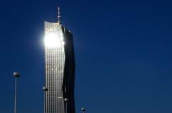Tower sun radiation Royalty Free Stock Photo