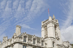 The tower of the Supreme Court of the United Kingdom Stock Photo