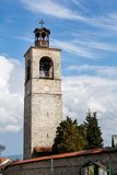 Tower of Sveta Troitsa Church in Bansko, Bulgaria Royalty Free Stock Images