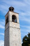Tower of Sveta Troitsa Church in Bansko, Bulgaria Stock Image