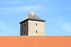 Tower of Svihov castle Stock Image