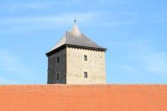 Tower of Svihov castle stock image