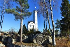 The Tower in Sweden royalty free stock images