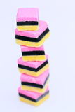 Tower of sweets Royalty Free Stock Photo