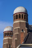 Tower of the synagogue of Groningen. Netherlands Royalty Free Stock Image