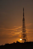 Tower of telecommunications. Palmira, Syria Stock Photography