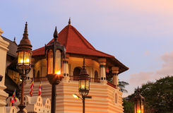 Tower of Temple of Tooth Relic Stock Photo