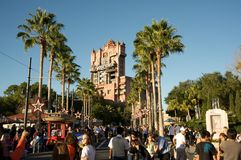 Tower of Terror at Disney�s Hollywood Studios Stock Photography