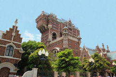 Tower of Terror at Tokyo DisneySea Stock Photo