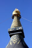Tower in a tibetan temple Royalty Free Stock Image