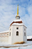 Tower of Tikhvin Uspensky monastery Royalty Free Stock Photos