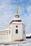 Tower of Tikhvin Uspensky monastery Royalty Free Stock Photos
