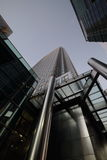Tower to the Sky One Canada Square Royalty Free Stock Images