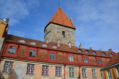 Tower of Toompea Castle Royalty Free Stock Photos