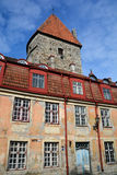Tower of Toompea Castle Royalty Free Stock Photo