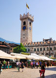 Torre Civica, Trento, Italy Stock Photography