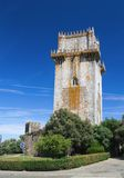 Tower Torre de menagem  in Beja Stock Photo