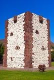 Tower Torre del conde in San Sebastian - La Gomera Island - Cana Royalty Free Stock Photo