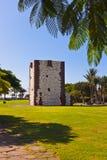 Tower Torre del conde in San Sebastian - La Gomera Island - Cana Royalty Free Stock Image
