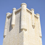 Tower of Torrelobaton Castle, Castile and Leon, Spain Royalty Free Stock Images
