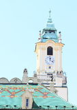 Tower of town hall in Bratislava Royalty Free Stock Photo