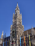 The tower of the town hall, Munich Germany Stock Photos