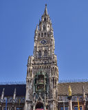 The tower of the town hall, Munich Germany Stock Image