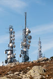 Tower for the transmission Stock Photography