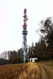 Tower transmitter Stock Images