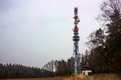 Tower transmitter Stock Photo
