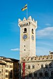 Tower of Trento Stock Photography