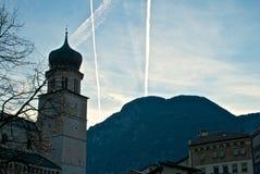 Tower of Trento Stock Photo