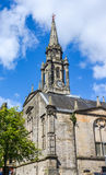 Tower of the The Tron Kirk-Edinburgh landmark Royalty Free Stock Images