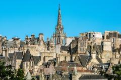 Tower of the The Tron Kirk-Edinburgh landmark Stock Images