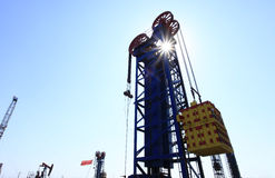 Tower type pumping unit Royalty Free Stock Photography