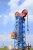 Tower type pumping unit Stock Photo