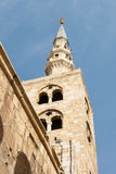 Tower of umayyad mosque Royalty Free Stock Image