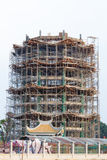 Tower under construction Royalty Free Stock Photography