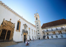 Tower of the University of Coimbra, Portugal Stock Photography