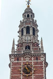 Tower of the University of Leuven, Belgium Royalty Free Stock Images