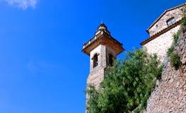 Tower in Valldemossa (Majorca - Spain) royalty free stock photo