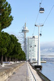 Tower Vasco da Gama, Lisbon, Portugal Stock Photo