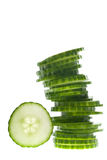 Tower of veggies Royalty Free Stock Images