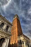 Tower in Venice, Italy. Tower bell in Venice, Italy Royalty Free Stock Photo