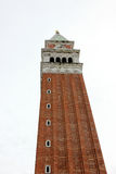 The  tower in venice. Photo image with  tower architectural  of venice Stock Images