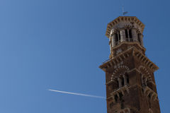 Tower in Verona, Italy Royalty Free Stock Image