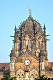 The Tower at Victoria Terminus, Bombay Stock Photography