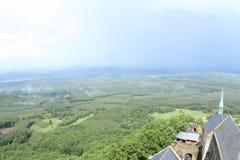 Tower View, Bezdez Castle stock photos