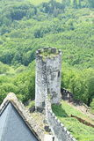 Tower View, Bezdez Castle royalty free stock images